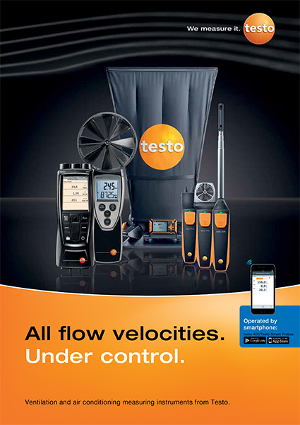 Testo Volume Flow Brochure